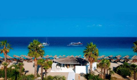 Гореща оферта! 5 нощувки със закуски и вечери в Ilio Mare 5*, о. Тасос, Гърция