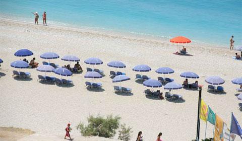 Страхотна морска почивка на о.Лефкада през Септември! 3 нощувки със закуски и вечери в Хотел Tesoro 3*, Гърция
