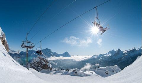 На Ски в Италия! 7 нощувки със закуски в Hotel Columbia 3*,  Cortina d'Ampezzo за 1 човек