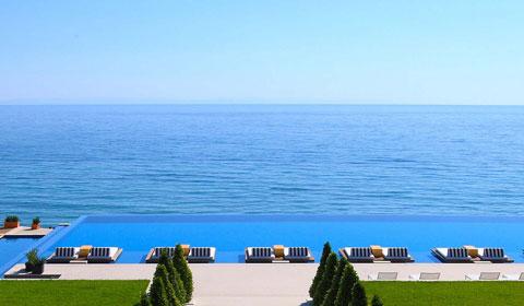 Свети Валентин в Cavo Olympo Luxury Resort & Spa 5*! 2 нощувки със закуски и вечери на Олимпийската ривиера, Гърция