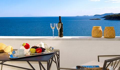 5 нощувки със закуски и вечери в хотел Lucy 5*, Кавала, Гърция през Юли и Август! Дете до 11.99г. - безплатно!
