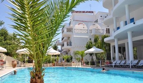 Ранни записвания: 5 нощувки със закуски и вечери в хотел Olympion Melathron 3*, Олимпийска Ривиера, Гърция през Юли и Август!