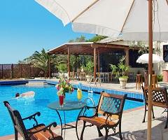 3 нощувки със закуски и вечери в Aeria Hotel 3*, о.Тасос, Гърция през Юли! Дете до 11.99г. - безплатно!
