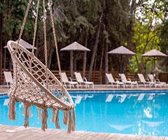 5 нощувки със закуски и вечери в Zoe Hotel 4*, о.Тасос, Гърция през Август!