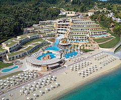 Ранни записвания: 5 нощувки със закуски и вечери в хотел Miraggio Thermal Sra Resort 5*, Халкидики, Гърция през Април и Май!