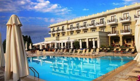Ранни записвания: 3 нощувки със закуски и вечери в Bomo Danai Hotel & Spa 4*, Олимпийска Ривиера, Гърция през Юли и Август!