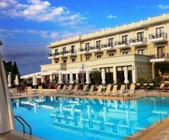 3 нощувки със закуски и вечери в Bomo Danai Hotel & Spa 4*, Олимпийска Ривиера, Гърция през Юли и Август! Дете до 5.99г. - безплатно!