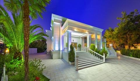 Ранни записвания: 5 нощувки Ultra All Inlusive в хотел Elinotel Apolamare 5*, Ханиоти, Халкидики, Гърция през Май!