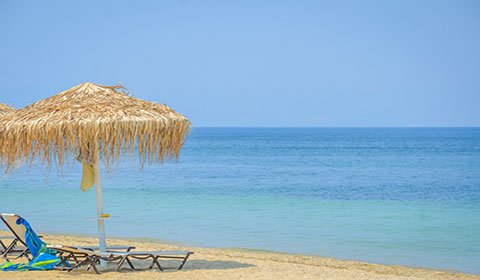3 нощувки със закуски в хотел Princess Calypso 3*, о.Тасос, Гърция през Септември!