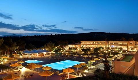 5 нощувки със закуски и вечери в хотел Royal Paradise 5*, о.Тасос, Гърция през Септември!