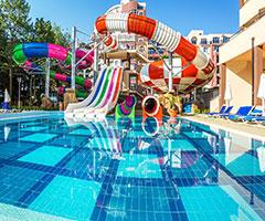 5 нощувки, All Inclusive в хотел Лагуна Парк & Аква Клуб 4*, Слънчев бряг през Юни! Дете до 11,99г. - безплатно!