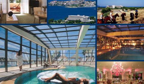 3 нощувки, All Inclusive в хотел Sithonia Porto Carras 5*, Халкидики, Гърция през Май! Дете до 11.99г. - безплатно!