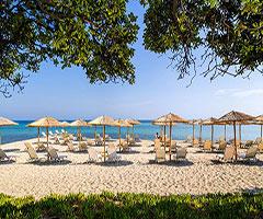 4 нощувки със закуски и вечери в хотел Kassandra Palace 5*, Халкидики, Гърция през Август!