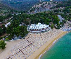 Ранни записвания: 3 нощувки, Ultra All Inclusive в хотел Bomo Tosca Beach 4*, Кавала, Гърция през Май! Дете до 11.99г. - безплатно!
